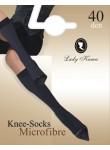 Ladies Knee Highs  Microfibre  40 DEN